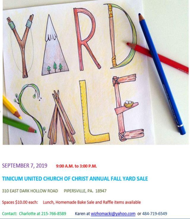 September 7 Yard 2019